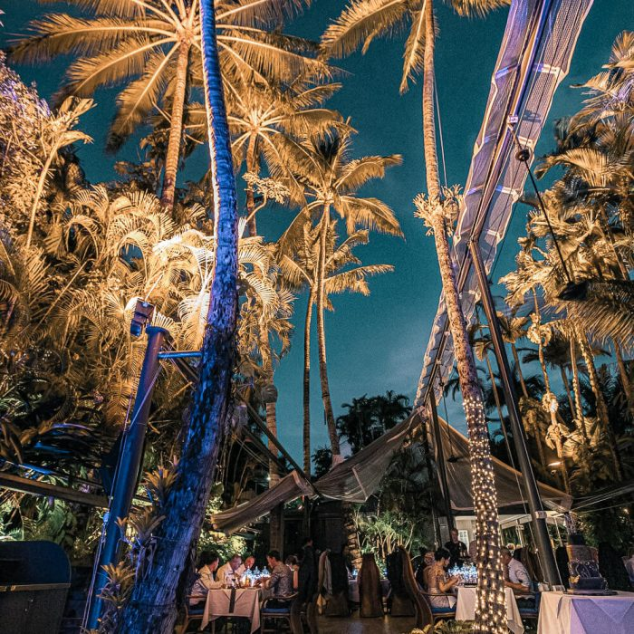 Nautilus Wedding Reception Courtyard 3