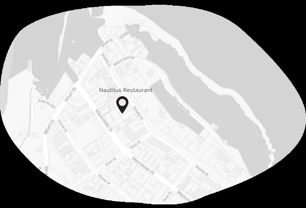 Map pinpointing Nautilus Restaurant at 17 Murphy St Port Douglas